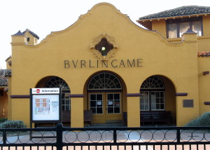 Burlingame Railroad Station, Burlingame Ave. and California Dr., Burlingame, CA