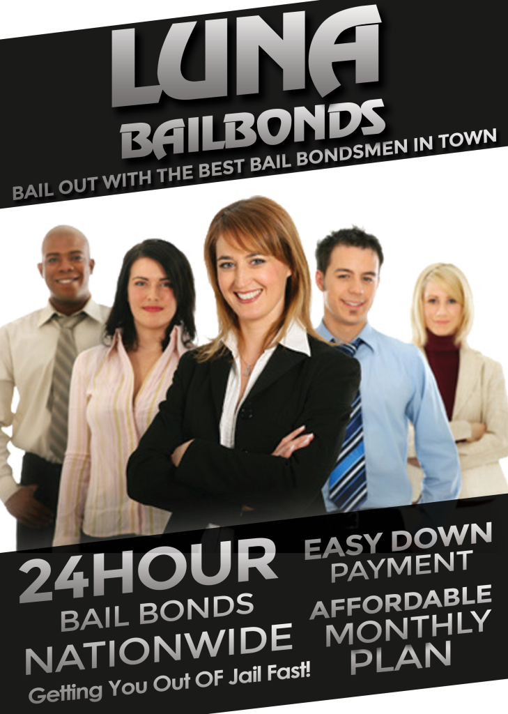 Ukiah Bail Bonds-luna bail bonds ad